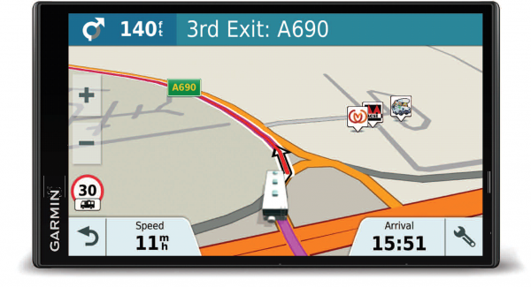 Avtex Tourer One Caravan & Motorhome Edition Sat Nav