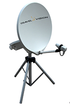 Travel Vision R6-55cm Fully Automatic Tripod Satellite Dish-small