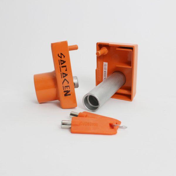 FullStop Saracen BPW Hitch Lock 4
