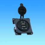C-Line Twin USB Socket – 5 Volt 1 Amp & 2.1 Amp